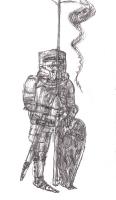 Иллюстрация к сборнику Рыцари